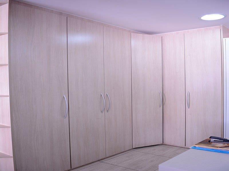 Armários planejados para quarto